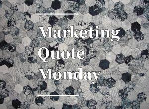 Seth Godin Marketing Quote.