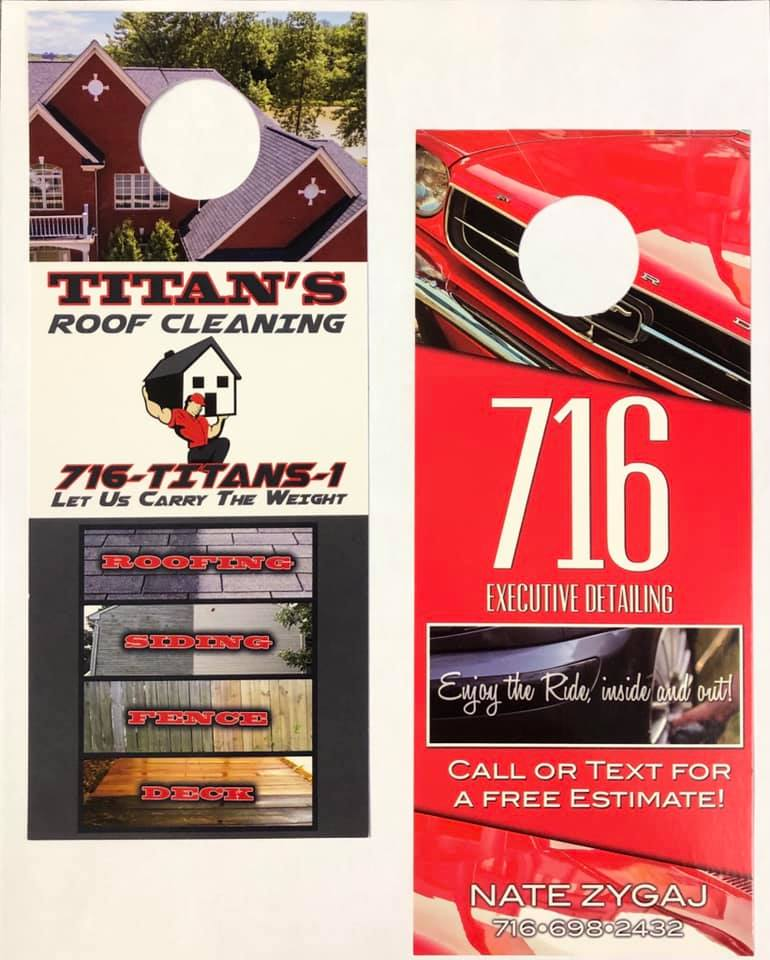 Custom Business Door Hangers