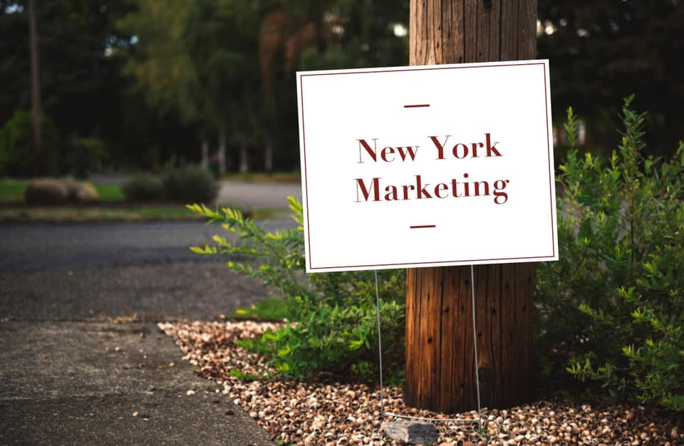 Get Personalized Lawn Signs to Support Your Business!