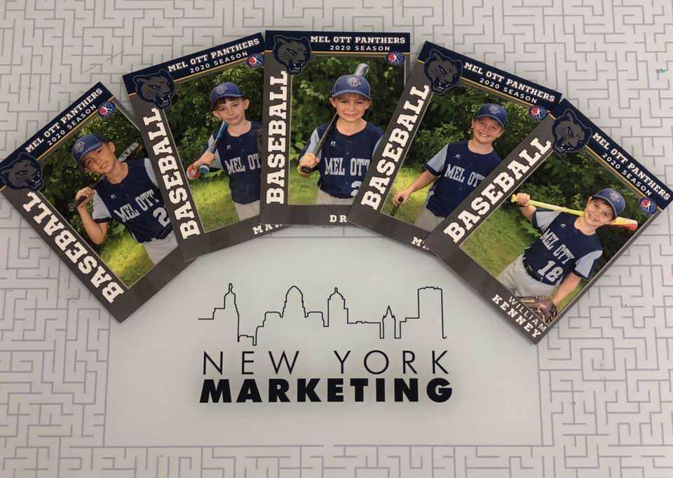 Get Your Team a Deck of Custom Sports Trading Cards!