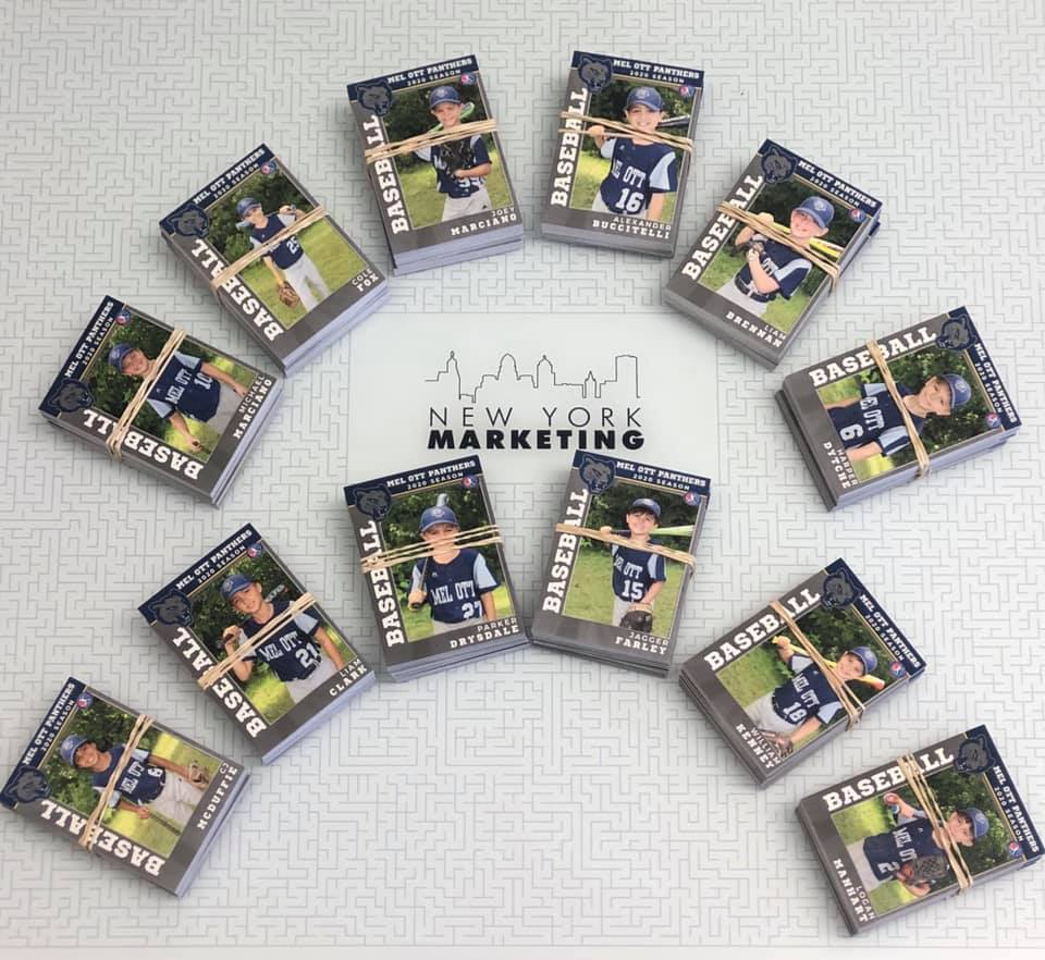 Custom Trading Cards for your Sports Team!