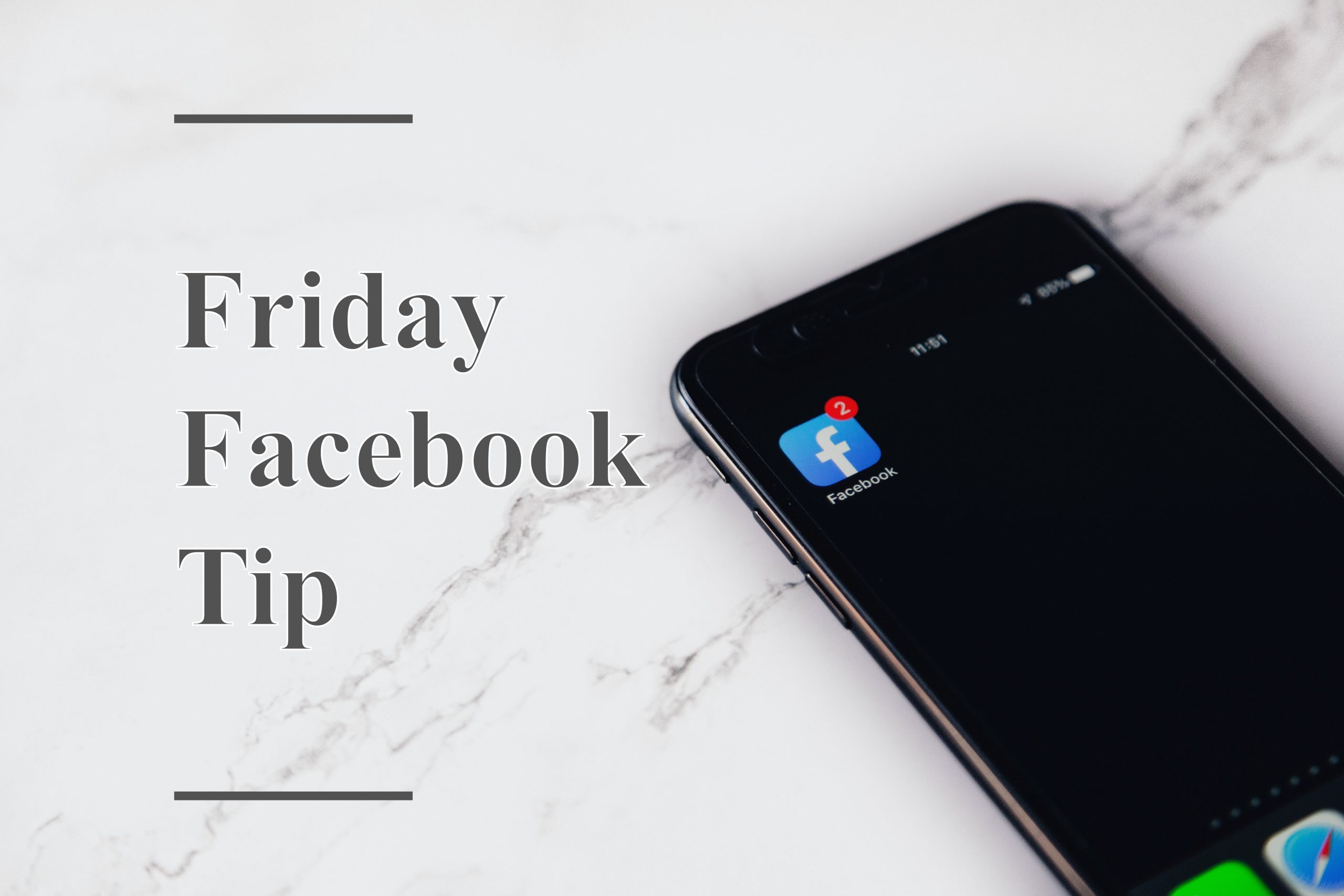 Facebook Feature Tip Friday!