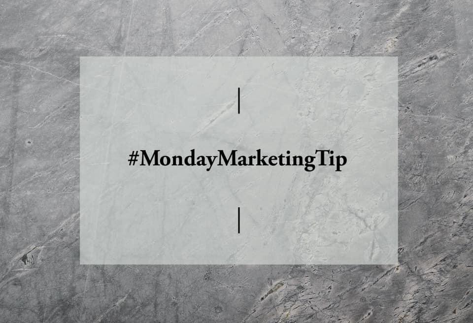 #MondayMarketingTip – Creating Your Blog