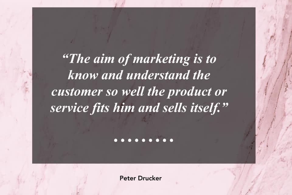 Peter Drucker - Marketing Quote