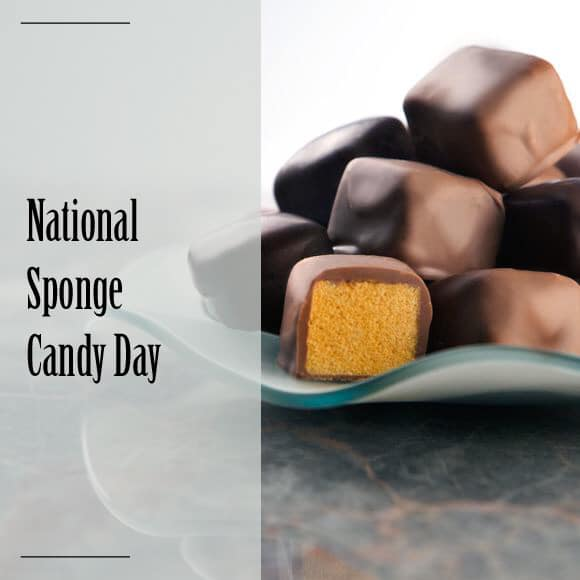 National Sponge Candy Day
