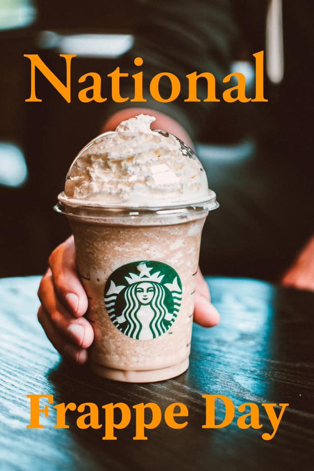 National Frappe Day!