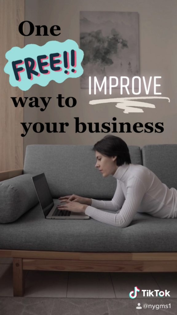 One FREE Way to Improve Your Business Before the New Year!