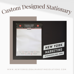 Personalize Your Store and Office With Custom Stationary
