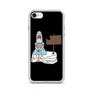 Shark Girl iPhone Case
