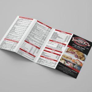 Custom 8.5×14 Brochures